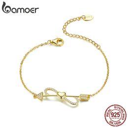 925 Sterling Silver Love sur chaîne coeur infini chaîne bracelets bracelets femmes bijoux en argent anniversaire cadeau d'anniversaire ? partir de fabricateur