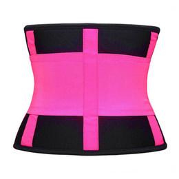 Blaue taille, die gürtel abnimmt online-Frauen Shaper Abnehmen Taille Taille Shaper Korsett Taille Trainer Gürtel Modellierung Schwarz Blau 4 Farbe S M L Xl