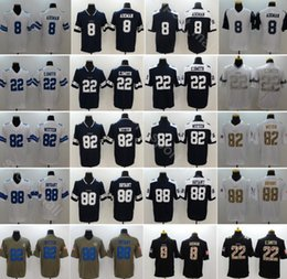 Men Football 88 Dez Bryant Jersey Dallas Cowboys 82 Jason Witten 8 Troy  Aikman 22 Emmitt Smith Vapor Untouchable Blue White Thanksgiving 21d345ff3