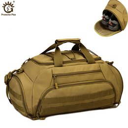 mochila mochila mochila Rebajas 35L Mochila militar Mochila Tácticas Molle Army Bags Nylon Impermeable 14 Inch Laptop Package Camera Camera Men Travel BagMX190905