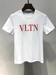 2399391739cb 2019 Più nuovo Modo 100% Cotone Marchio LOGO Stampa Maglietta Abbigliamento  di lusso Uomo donna Maglietta Manica corta T-Shirt da uomo di alta qualità  ...
