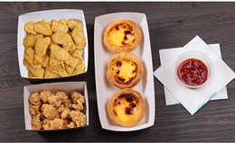 600 stücke Einweg Kraftpapier Pommes Frites Tasse Umweltfreundliche Gebratenes Huhn Popcorn Dessertteller Party Food Package 20180920 # von Fabrikanten