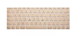 tabletas de piel clara Rebajas Gold Colors EE. UU. / EU Silicona Para Macbook Teclado Pegatinas Cubierta Para Mac Air Pro Retina 11 12 13 15 Protector de Piel Funda Teclado