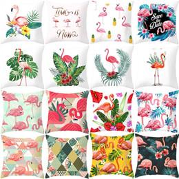 Copertura della vita online-Nuovi Tessuti per la casa Flamingo federa decorazioni per la casa Federa per divano cuscino vita cuscino coprisedia per cuscino 4899