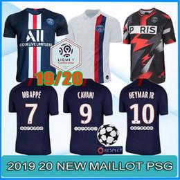 bae09f205f 2019 psg maillot 2019 2020 PSG terceira maiô MBAPPE camisa de futebol  CAVANI VERRATTI tailândia 18