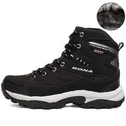 bergspaziergänge Rabatt BONA Neue Heiße Art Männer Wanderschuhe Winter Outdoor Walking Jogging Schuhe Bergsport Stiefel Klettern Turnschuhe Freies Verschiffen