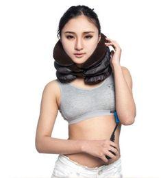 Cuscino gonfiabile posteriore del collo spalla Dolore Massaggiatore trazione cervicale del collo cervicale Estricatore collo di massaggio di cura da