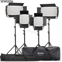 fotografische lichtkits Rabatt 1100S + 600S fotografisches Kit LED-Kamera-Lampe fotografische Beleuchtung Beleuchtung Micro Movie Hochzeit Porträt Interview Set CD50 T01