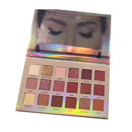 HOT vente beauté palette de maquillage New NUDE 18colors palette de fard à paupières mat brillant de haute qualité DHL expédition rapide ? partir de fabricateur