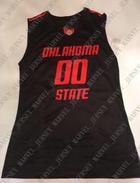 be0496521cd Cheap custom Oklahoma State Cowboys Basketball Jersey Black Orange Stitched  Customize any number name MEN WOMEN YOUTH XS-5XL basketball custom jerseys  cheap ...