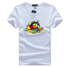 2018 Sheldon Cooper Fusion rubik футболка Cube белые мужские футболки homme casual плюс размер The Big Bang Theory geek Футболка от