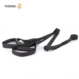 black equipment Promo Codes - Resistance Bands crossfit Equipment Strength Hanging Training Strap Fitness Exerciser Workout Suspension Trainer Belt