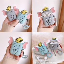 estuches para muñecas Rebajas Cute Cartoon Soft Silicone Doll Case para Apple Airpods Case Wireless Bluetooth Earphone Cover 19 estilos