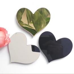 Canada Nouveau stickers muraux bricolage 3d autocollant acrylique décoration cadeau de mariage lettres d'amour décoratif Alphabet décoration murale Offre