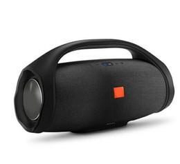 Subwoofer bluetooth portátil online-2019 Altavoz Bluetooth Boombox de sonidos 3D Estéreo HIFI subwoofer Manos libres estéreo portátil al aire libre de DHL Subwoofers