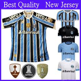 4cdebe5d142 Free Shipping Best Quality 2018 19 Gremio Soccer Jersey 18 19 Gremio MILLER  LUAN DIEGO HAILON Home Away Third Football Shirts Camisetas