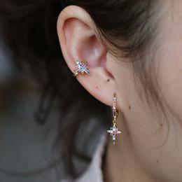 1 New Fashion Star Moon Heart Big Girl Clip Earrings Gift Women Without Pierced Earrings Fake Ear Bones Clip Factory Wholesale Wide Selection; Jewelry & Accessories