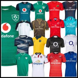 2019 famosi dipinti donne Maglie rugby irlandese Coppa del mondo 2019 IRFU irlandese NRL Munster city Rugby League Leinster alternate jersey 19 20 ulster Irishman shirts