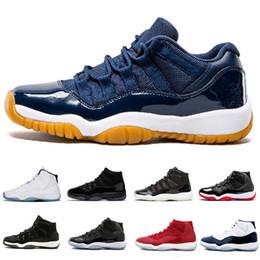 2019 vera fibra di carbonio 2019 hot best quality 11 XI scarpe fashion designer Scarpe da basket Uomo 11s Vera scarpe da ginnastica in fibra di carbonio Sneakers sportive Taglia 40-47 sconti vera fibra di carbonio