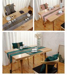 mesa de comedor paño estilo chino Rebajas Mesa y mesa bandera Estilo chino sofá cojín cojín comedor simple salón mesa de té estera de té paño arte