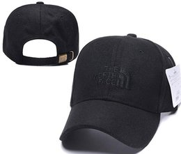 2019 I progettisti Mens Baseball Caps nuova marca The North Cappelli oro ricamato Viso osso Uomini Donne casquette cappello Gorras Sport Cap Drop Shipping da