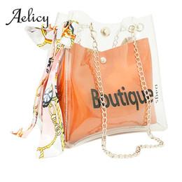 kunstlederbeutel Rabatt Aelicy Frauen Täglichen Gebrauch Bucket Bag Transparente Handtasche Damenmode Kunstleder Einkaufstasche Schulter
