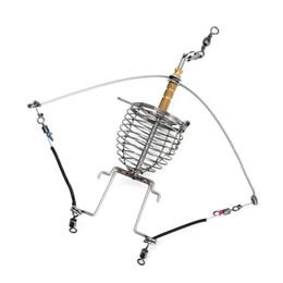 gancio multifunzione Sconti Attrezzatura da pesca automatica multifunzione, allarme pigro, gancio per attrezzatura da pesca. Lancia da pesca automatica con doppio gancio di pesca.
