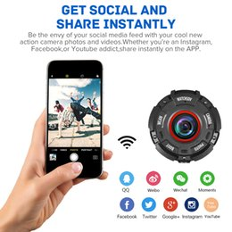Reloj impermeable hd dvr online-Mini cámara WiFi a prueba de agua Blueskysea DVR Cam Full HD Dash cam 1080P Sport Action Camcorder Wearable Smart Watch Bike Camera car dvr