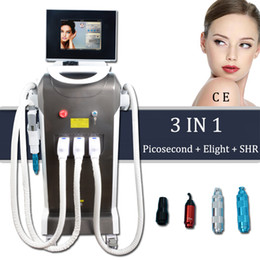 Машинный возраст онлайн-Elight Подтяжка груди машина OPT SHR эпиляция Age Spot Picosecond Лазерное удаление татуировки