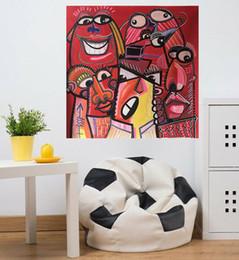 pinturas de arte meninas bonitas Desconto Alta qualidade 100% Pinturas pintado à mão moderno abstrato óleo sobre tela Pinturas Figura bonito Decor Girl Home Wall Art AM-68-8-2
