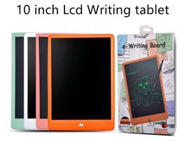 optischer maussensor mini Rabatt LCD 10 Zoll Schreibtafel Lcd-Schreibtafel Blackboard Handwriting Pads Papierloser Notizblock Whiteboard Memo Mit Stift DHL-frei