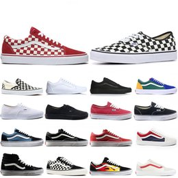 Nuovo arrivo OFF THE WALL old skool Wans FEAR OF GOD Per uomo donna sneakers in tela YACHT CLUB MARSHMALLOW moda skate scarpe casual