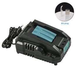 Acessórios de bateria on-line-14.4 Para 18V Power Tool Charger Bateria Forte Compatibilidade Prática Duplo Pulse Charging Acessórios Compactos ABS Para Makita