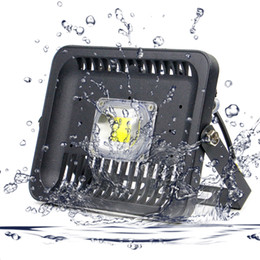 2020 чип наводнения Светодиодные прожекторы IP66 100 Вт 50 Вт 30 Вт 110 В 220 В LED COB Чип Прожектор Открытый Настенный светильник Садовые Проекторы Наружное освещение дешево чип наводнения