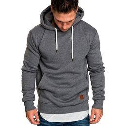 Roter hoodie 4xl online-Sweatshirt männer 2018 neue hoodies marke männlich langarm solide hoodie männer schwarz rot große größe poleron hombre # 0922