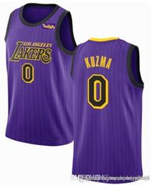 35d052ae9 New Los Angeles 23 LeBron James Lakers Jersey 2 Lonzo   Ball 0 Kyle   Kuzma  14 Brandon   Ingram Bryant 8 Jerseys