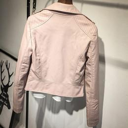 cappotti di colore rosa Sconti Moda primavera inverno Abbigliamento di colore rosa Cappotto di pelle sintetica