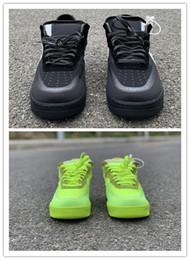 Новый лимонно-желтый низкий черный мужчины кроссовки обучение спортивная мода высокое качество открытый тренеры с коробкой лучший размер 7-12 от