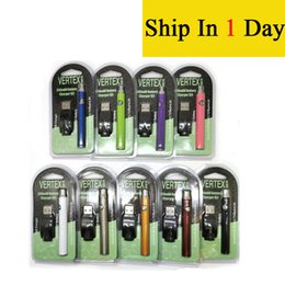 Vertex Co2 VV Pré-aqueça bateria Kits LO Bateria Co2 Oil vaporizador O Pen 510 Vape Pen Baterias pré-aquecimento 350mAh BOGO Ce3 Cartucho EC001 de Fornecedores de bateria de coroa