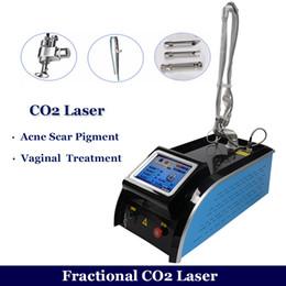 co2 tratamento da pele Desconto 2019 melhor máquina de resurfacing da pele do laser fraxel laser CO2 remoção de cicatrizes de acne fraxel laser de carbono CO2 equipamento de tratamento da pele