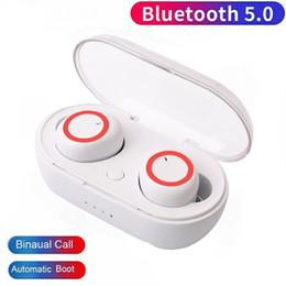 М2 мобильный онлайн-Bluetooth-гарнитура M2 TWS headset 5.0 беспроводные наушники стерео портативная гарнитура с микрофоном для мобильного телефона ios Android