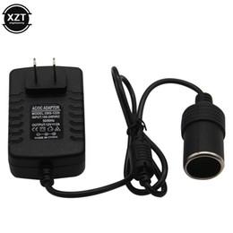 eu plug mini cargador de coche Rebajas 220V CA al cigarrillo 12V mini 2A UE estándar Plug encendedor del coche adaptador de cargador transformador Socket dispositivos electrónicos de coches