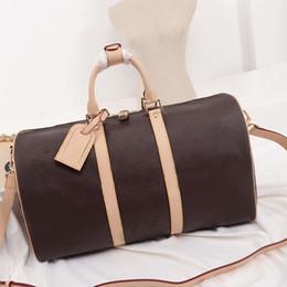 modelli di borse da viaggio Sconti 45 * 27 * 30 CM duffle bag old flower designer borsone borsa Classic fashion designer borsa da viaggio Designer borse da viaggio modello M4141801