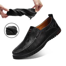Grand Taille 38-47 Été En Cuir Véritable Hommes Mocassins Mens Slip-On Mocassins Respirant Conduite Casual Chaussures XZ-052 ? partir de fabricateur