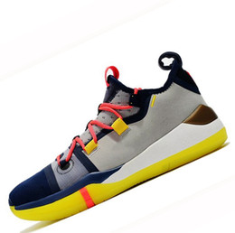 buy popular e6017 59224 2019 Kobe AD EP Mamba Tagessegel Multicolor Herren Basketball-Schuhe Wolf  Grau Orange für AAA + Qualität Schwarz Weiß Herren Turnschuhe Sportschuhe