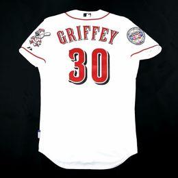 745327f51 Cheap Majestic #30 KEN GRIFFEY JR. COOL BASE Jersey Mens Stitched Wholesale  Big And Tall SIZE XS-6XL baseball jerseys. Supplier: hysjersey