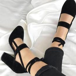 Zapatos de mujer de corte alto online-2019 Mujeres Sexy Peep Toe Gladiator Corta con cordones Vestido de tacón alto bombas Zapatos de señora Tamaño grande