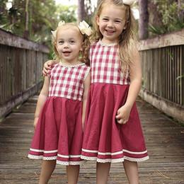 Vestido de renda sem mangas on-line-Garment, Princesa Do Bebê Vestido De Renda Jaqueta Colete Bouffancy Senhora Crianças Roupas Para Meninas Os Melhores Vestidos