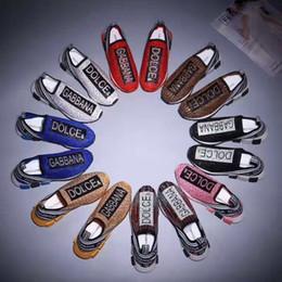 Canada nouveau luxe Sorrento Sneaker mens chaussures de chaussures en tissu Stretch Jersey Slip-on Sneaker Lady deux tons en caoutchouc Micro Sole Casual Shoes 12 Offre