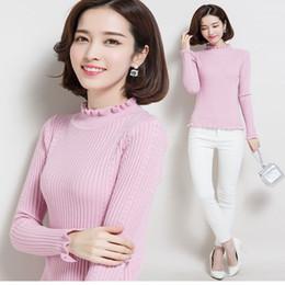 camisolas formais Desconto 2018 venda Quente marca mulheres pullover 3D flores camisola tridimensional rosas manga pulso pulôver mulheres frete grátis